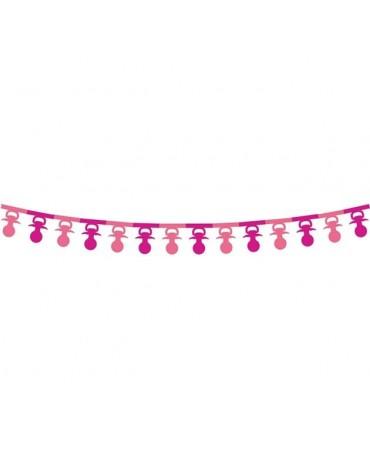 Girlanda cumlíky- ružové 3,6m
