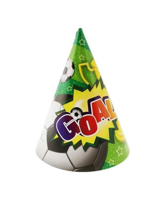 """Klobúčiky """"Goal"""" 6ks"""