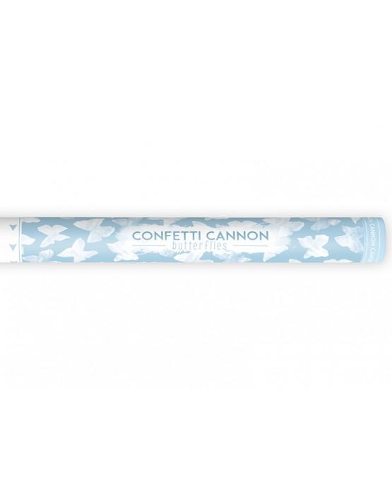 Konfety - biele motýle 60cm