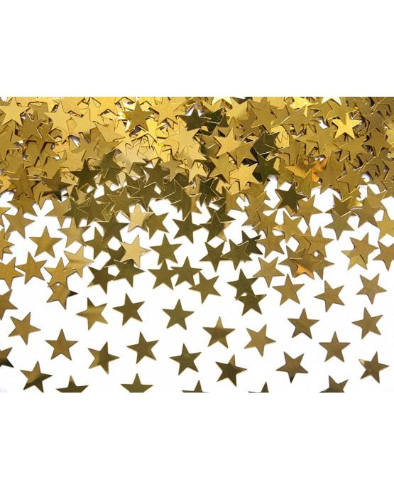 Konfety hviezdy - zlaté 30 g