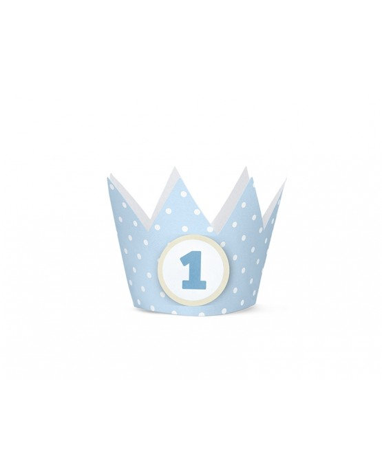 Korunka 1. rok- modrá 4ks