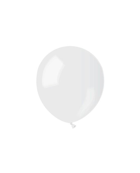 """Latexové balóny  5""""  priehľadné 10ks"""