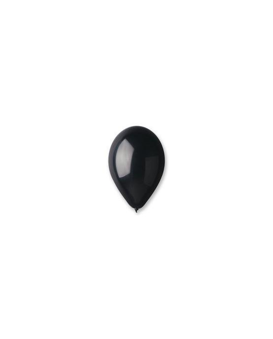 "Latexové balóny 12""- čierne 10ks"