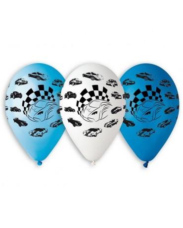 Latexové balóny autíčka 30cm 10ks