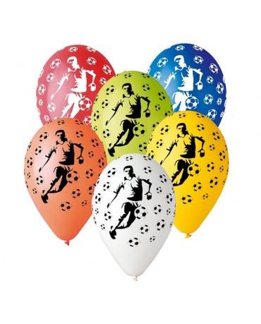 Latexové balóny Futbal -mix 30cm 10ks