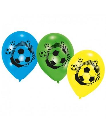 """Latexové balóny Futbal mix 9"""" 6ks"""