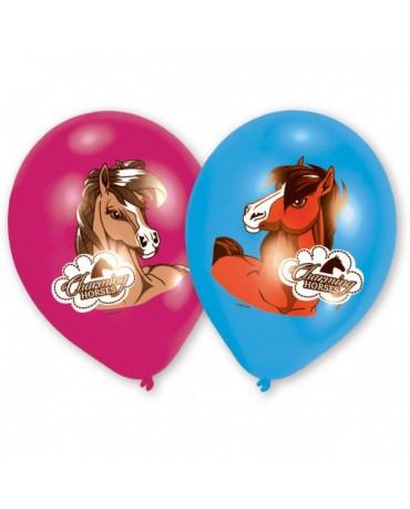 """Latexové balóny Koníky 10""""  8ks"""