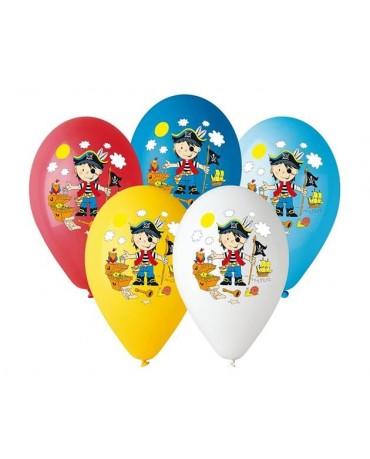 """Latexové balóny Malý pirát 12"""" 10ks"""