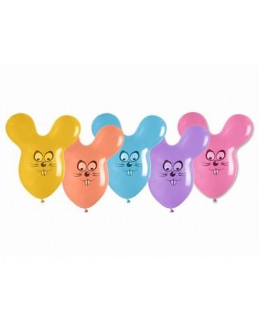 Latexové balóny myšky 65cm 10ks