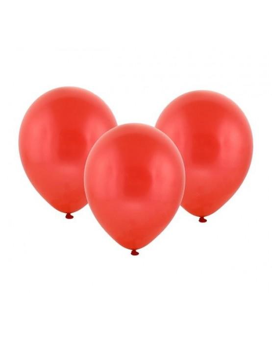 """Latexové balóny pastelové -červené 12"""" 10ks"""