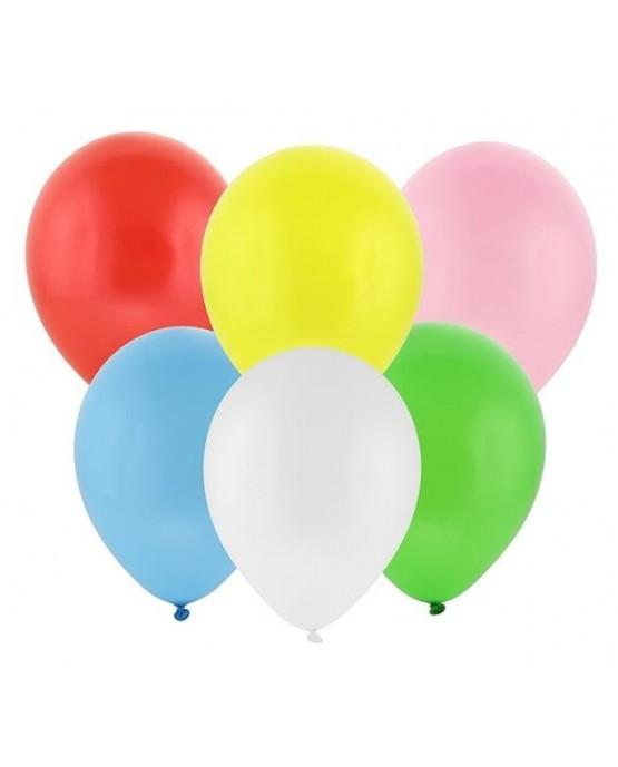"Latexové balóny pastelové mix 12"" 10ks"