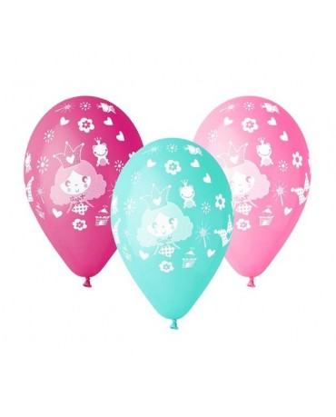 "Latexové balóny princess 12"" 10ks"