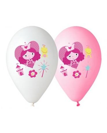 """Latexové balóny Princeznička 12"""" 10ks"""