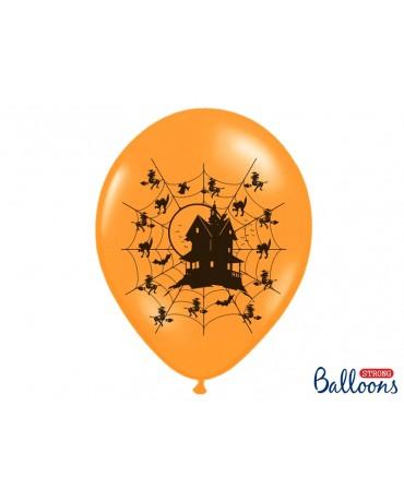 Latexové balóny- strašidelný dom 30cm 10ks