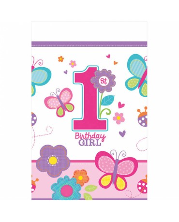 Obrus Birthday girl č.1 -1ks