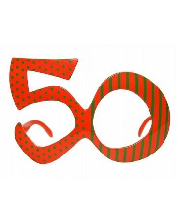 """Okuliare - Party """"50""""  1ks"""
