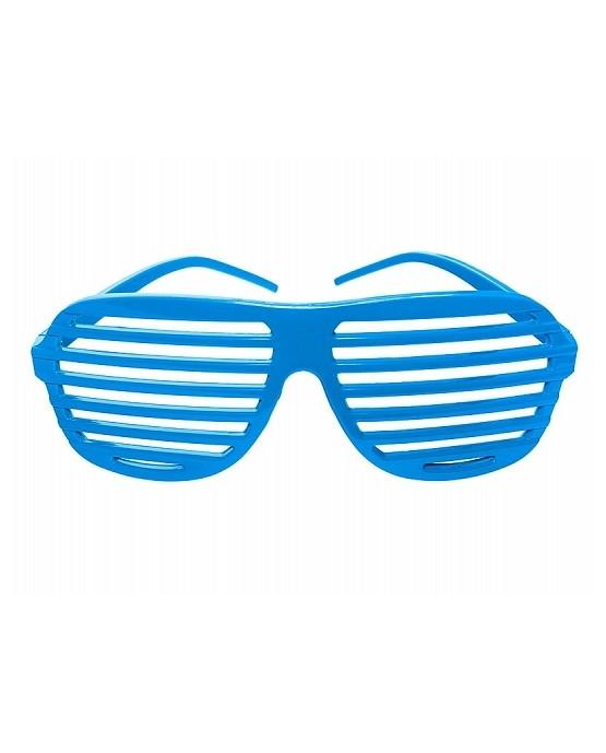 Okuliare - tyrkysové okenice