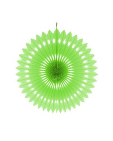 Papierová rozeta - zelená 40cm 1ks