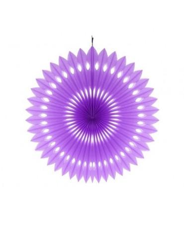 Papierová rozeta -fialová 40cm 1ks