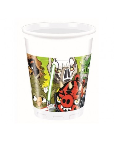 Poháre Angry Birds - Star Wars 200ml 8ks