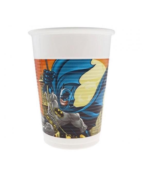 Poháre Batman-Dark Hero - 200ml - 8 ks