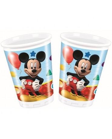 Poháre Mickey Mouse 200ml 8 ks