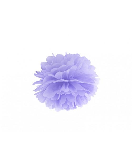 Pompón - bledofialový 25cm