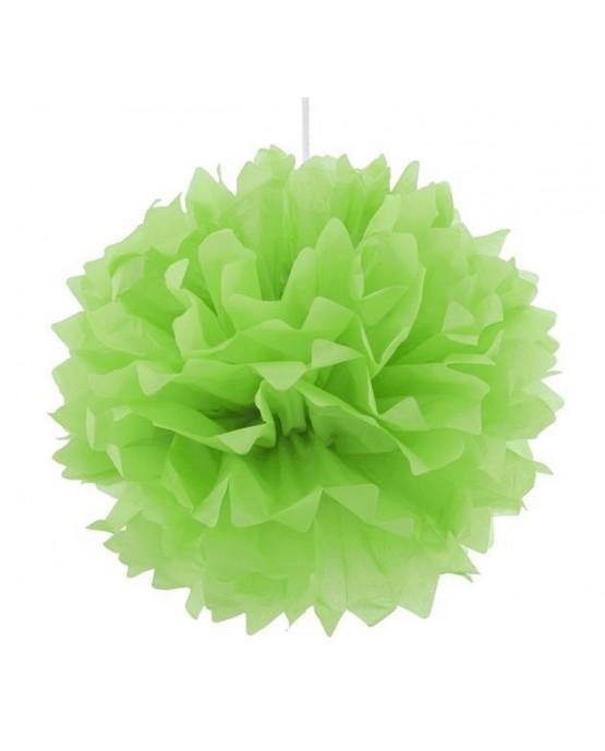 Pompón - zelený 40cm 1ks