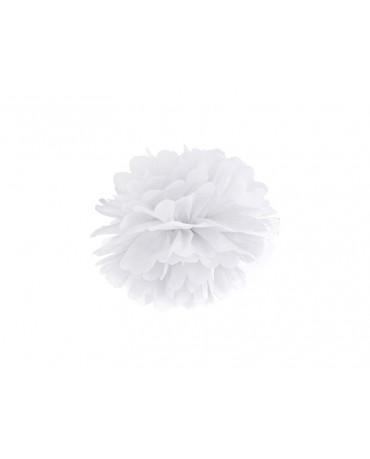 Pompón -biely 25cm