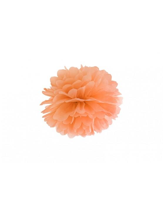 Pompón -oranžový 25cm