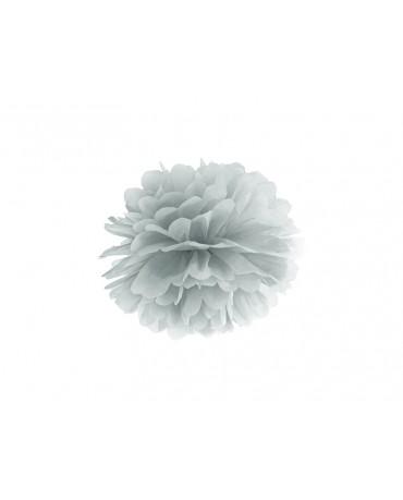 Pompón -strieborný 25cm