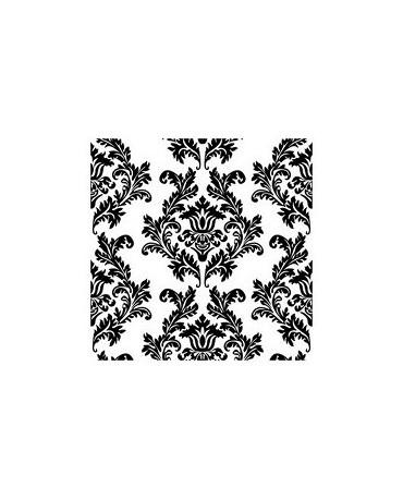 Servítky biele-čierny vzor 33cm 20ks