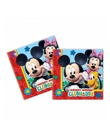 Servítky Mickey Mouse - 33cm 20ks