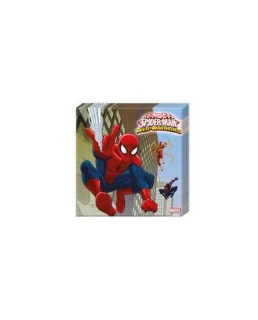 Servítky Spiderman- Web Warrior  33 cm 20 ks