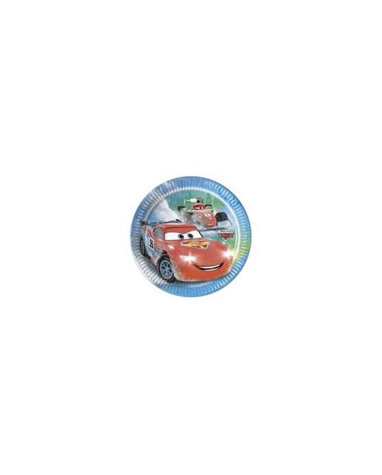 Tanieriky Autá - na ľade  20 cm - 8 ks