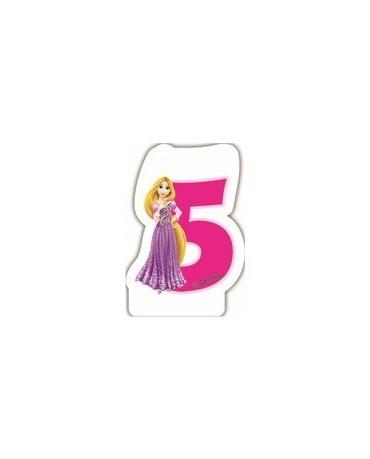"Sviečka Princess- č.""5"""