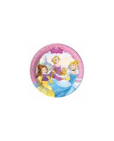 Tanieriky Disney Princess   20 cm - 8 ks