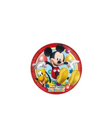 Tanieriky Mickey Mouse 20 cm 8 ks