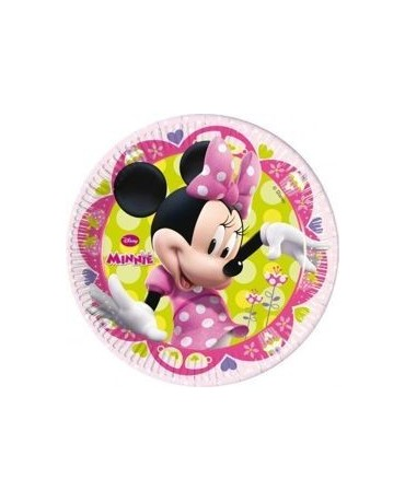 Tanieriky Minnie -Tique 20 cm - 8 ks