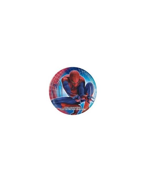 Tanieriky Spiderman 20 cm - 6 ks