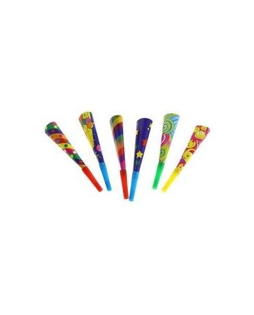 Trubky - mix farieb 6ks