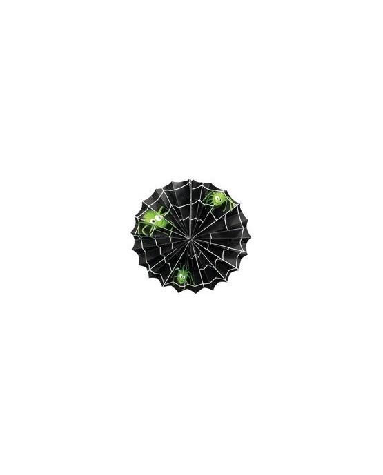 Visiaca dekorácia- pavučina 31cm 1ks