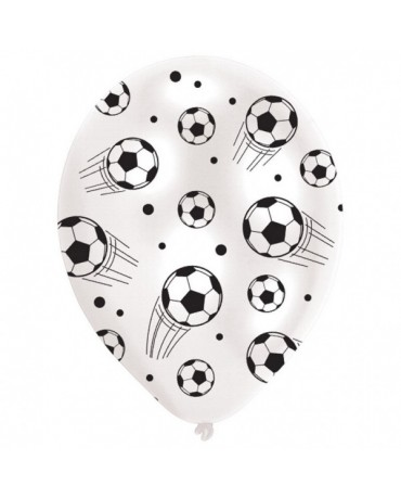 """Latexové balóny Futbal 11"""" 6ks"""