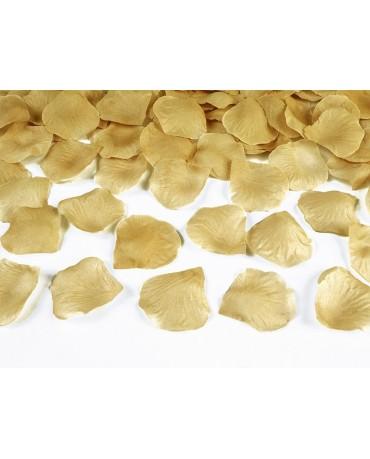 Lupene ruží -zlaté 100ks