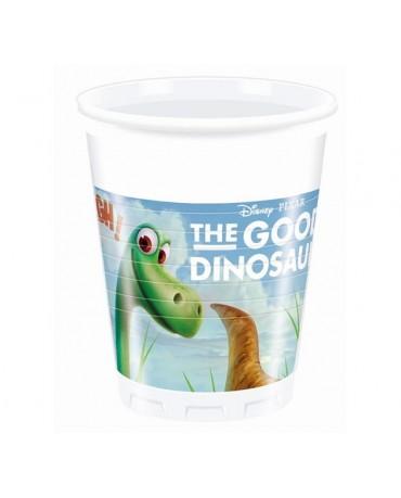 Poháre Dobrý Dinosaurus 200ml 8 ks