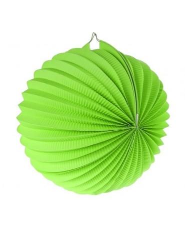 Dekorácia guľa zelená 25cm 1ks