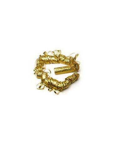 Serpentíny - ligotavé zlaté 4 m