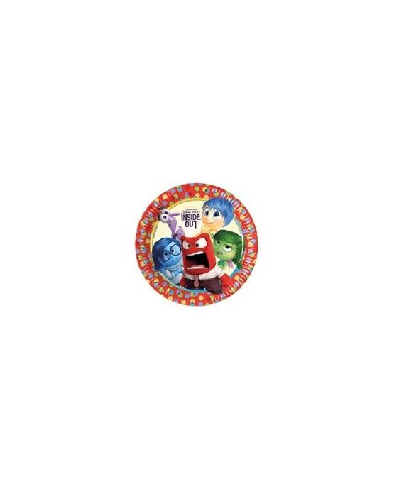 Tanieriky V hlave 23 cm - 8 ks