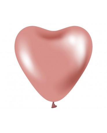 """Balóny ružové srdcia 12"""" 6ks"""