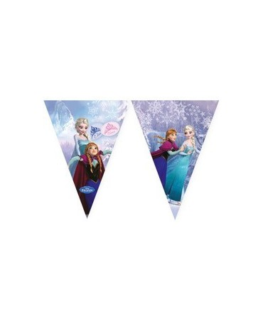 Banner vlajok - Frozen-Ice skating 2,3m